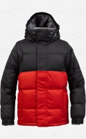 КУРТКА-ПУХОВИК Burton BOYS INDIE DOWN JKT TRUE BLACK/BURN