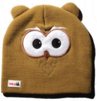 Шапка дет ELM (WildLife) Owl (TAN, one size)