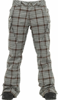 ШТАНЫ Burton WB GLORIA PT MOSS GROUPIE PLAID