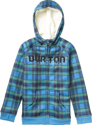 Burton BOYS BONDED HOODIE BLUE-RAY SWITCH PLD