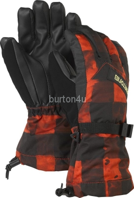 Burton BOYS GLV BURNER BUFFALO PLAID