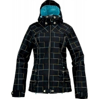 Куртка женская Burton WMS BRT ELEVATION JK Gridline True Black