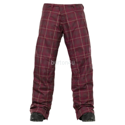 ШТАНЫ Burton W AK 2L STRATUS PT Trench Mad Plaid