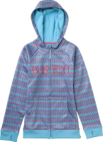 Burton GIRLS SCOOP HOODIE BOHEMIAN FLAMINGO