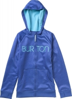 Burton GIRLS SCOOP HOODIE DEJA BLU STARRY NITE