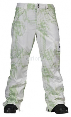 БРЮКИ М Burton MB POACHER PT GATOR GRN PHOTO PLD