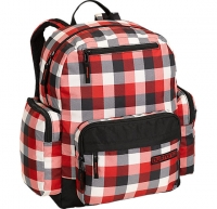 Burton РЮКЗАК ДЕТ YTH NANOOK PACK BUFFALO PLAID CRIMSON DARK GREY